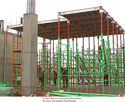 Shoring And Reshoring : Tabla shoring construction systems pioneer
